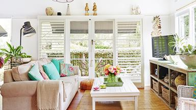 Di brings coastal style to a weatherboard cottage