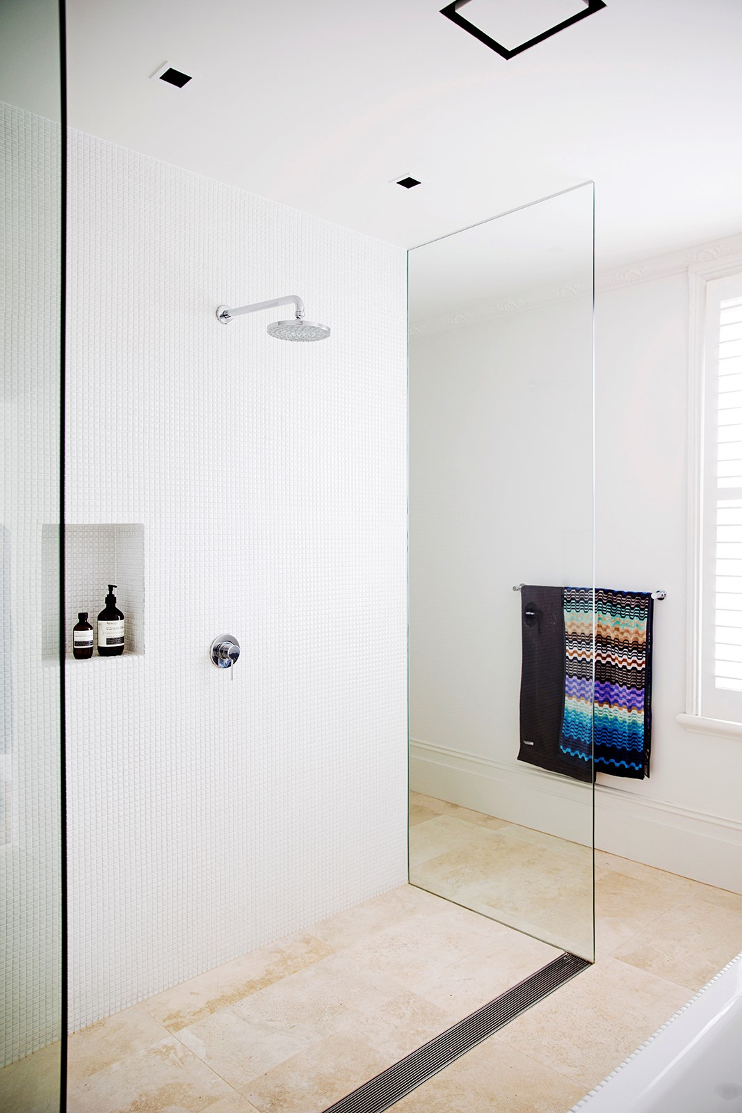 Design and functionality are crucial to any bathroom renovation. *Photo: Chris Warne*