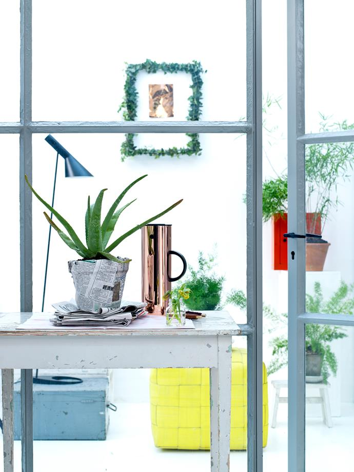 "**Green is good:** Indoor plants have health benefits – they [purify the air](https://www.homestolove.com.au/the-10-best-air-purifying-plants-4501|target=""_blank"") and they're good for mental health as well. Just another reason to fill every room in your [home with indoor plants](https://www.homestolove.com.au/homes-with-indoor-plants-6776
