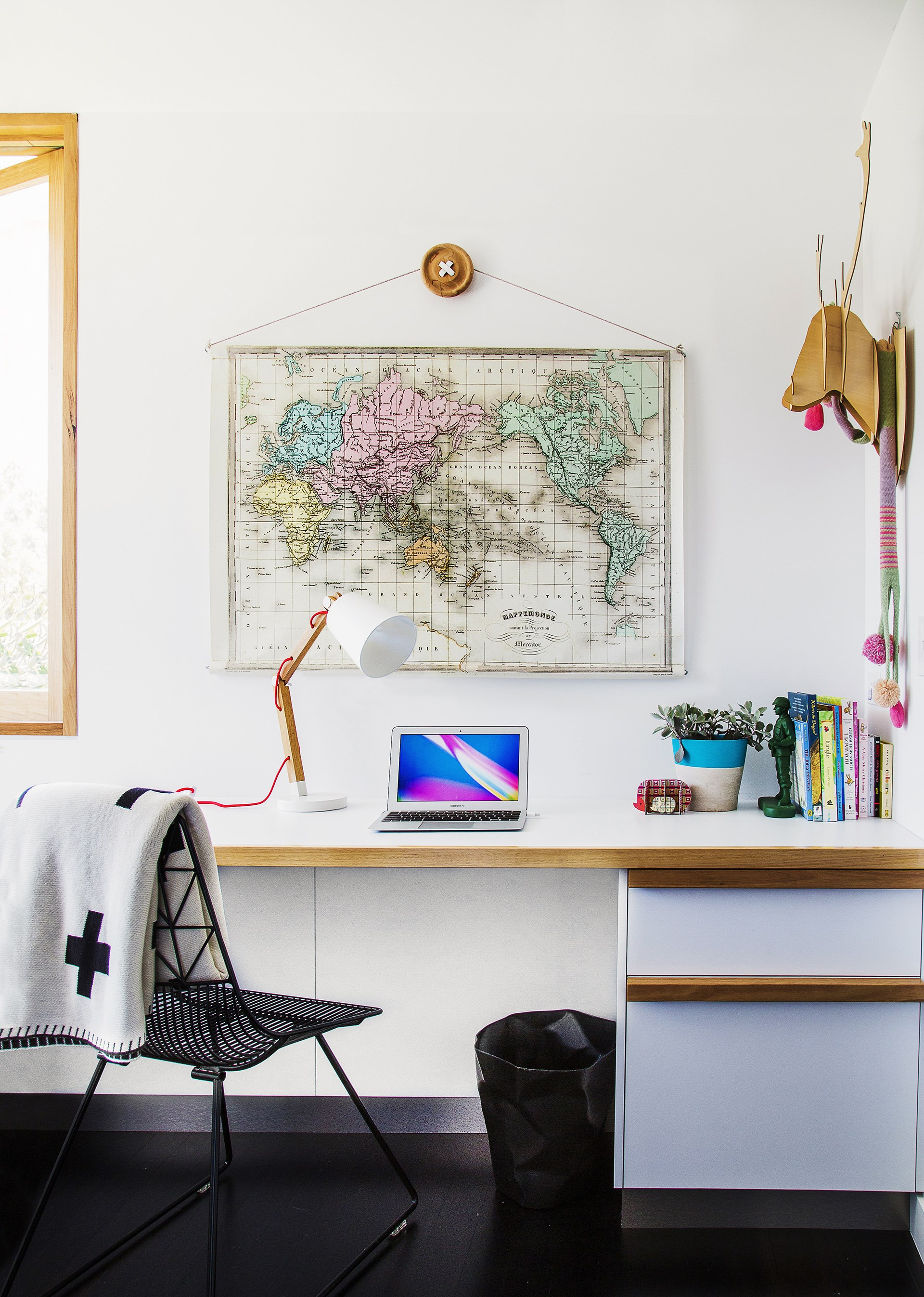 **ROOM TO MOVE** <br><br>Most children like to spread out when they study, so make sure they have a desk that is both long and wide enough to accommodate multiple books, and materials for more creative projects.