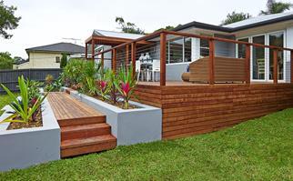 Outdoor decking renovation