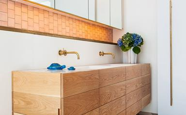 Bold and beautiful luxe bathrooms