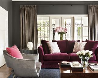 Formal luxury living room