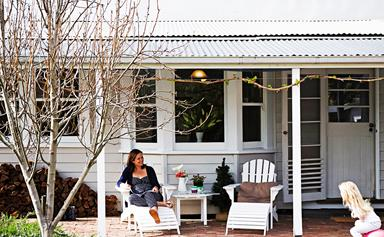 Claire and Alex's classic backyard makeover