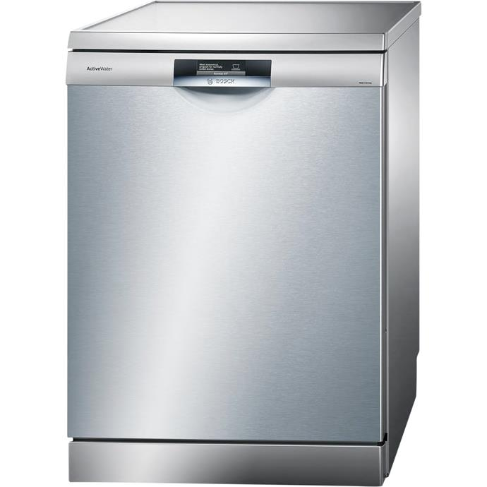 **Bosch SMS69T28AU Series 8 Activewater dishwasher, $2399**  4.5-star energy rating  This dishwasher has Zeolith technology and uses 20-per-cent less power than other energy efficient dishwashers. It has a 4.5-star WELS rating. It's quiet; operating at about whisper volume (42dB).