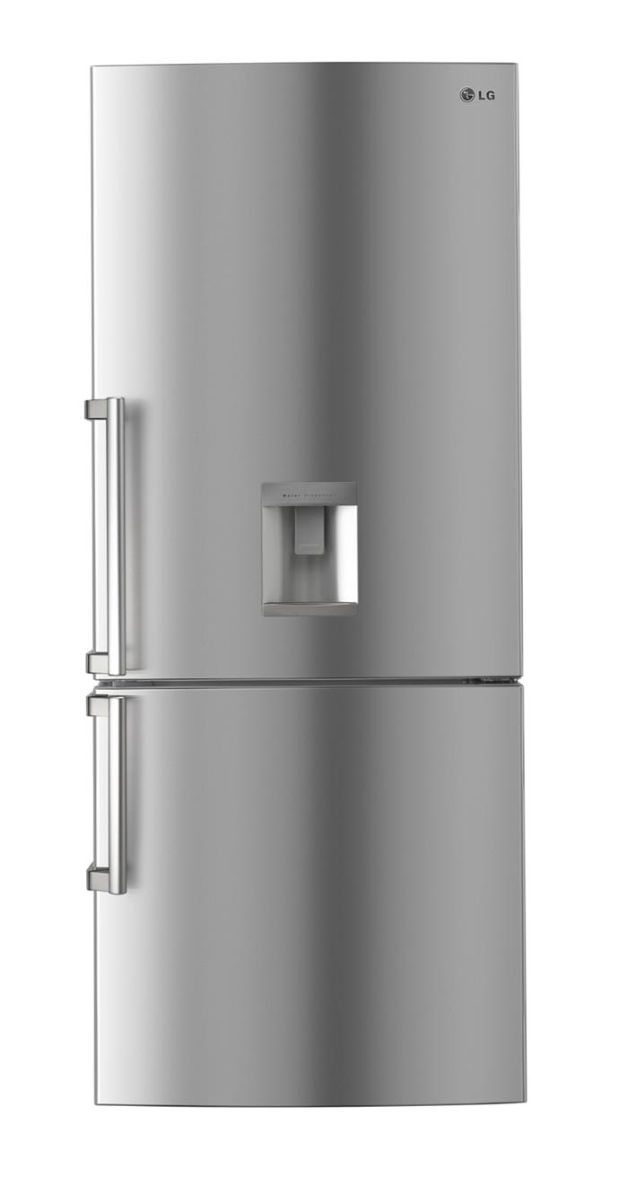**LG GN-W450UPL 450L fridge/freezer, $1849**  4-star energy rating  Again, it's the inverter linear compressor in this 450L bottom-mount model that delivers class-leading energy efficiency. The 'smart diagnosis' feature allows the fridge to tell you when it needs a service.