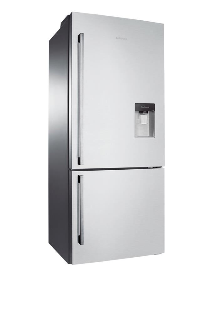 **Samsung SRL455DLS A 455L fridge/freezer, $1599** 4-star energy rating The inverter compressor in this bottom-mount Samsung model is the secret to its low energy consumption. It also features a water dispenser that doesn't need to be plumbed in.