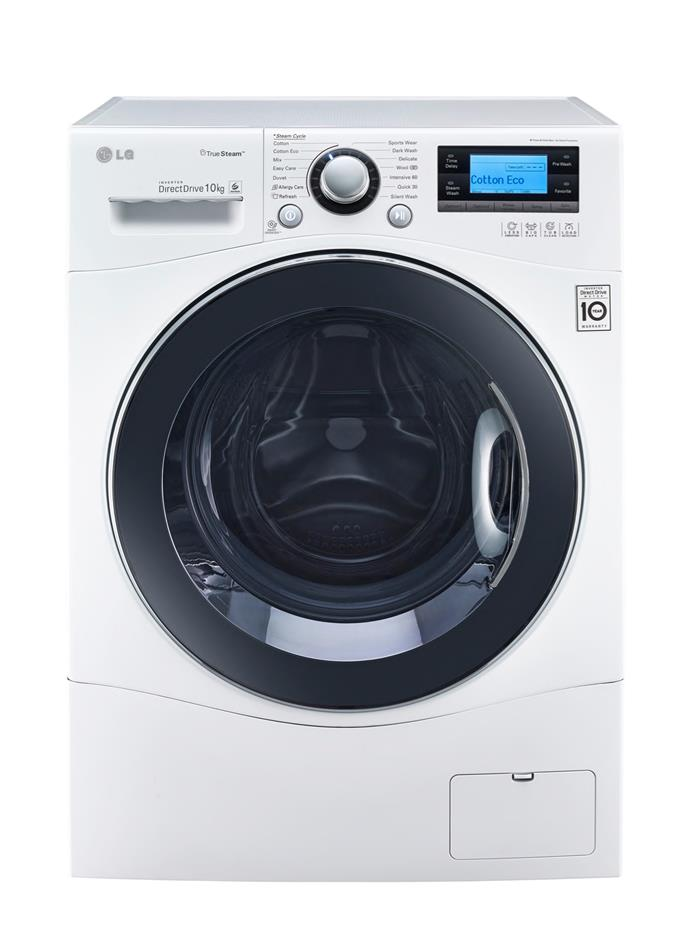 **LG WD14071SD6 Direct Drive 10kg front loader washing machine, $1899**  4.5-star energy rating  A great energy rating is paired with a 4.5-star WELS rating. An inverter motor drives six different drum movements for an efficient wash. There's a steam cycle for delicates too.