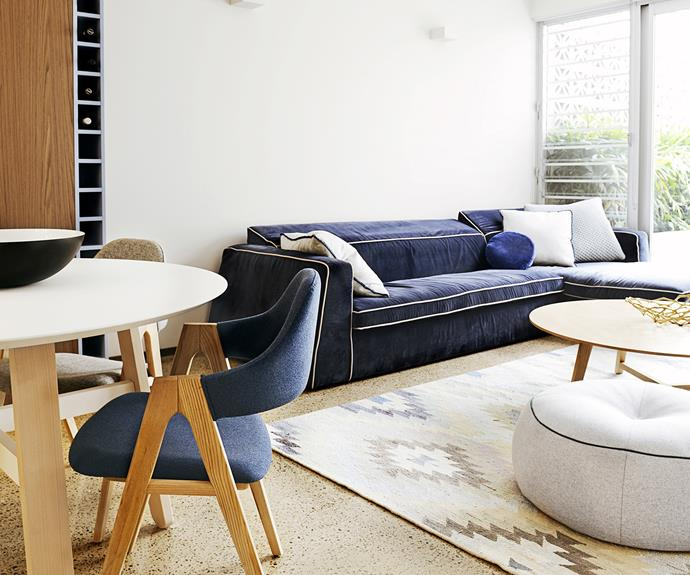 Architecturally designed open living space