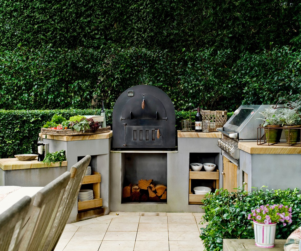 """Make life easier for yourself with an outdoor kitchen where all the essentials are within easy reach; you'll find yourself having barbecues far more often. A pizza oven is another backyard drawcard. Learn [how to care for your barbecue](http://www.homestolove.com.au/how-to-care-for-your-barbecue-1897/?utm_campaign=supplier/