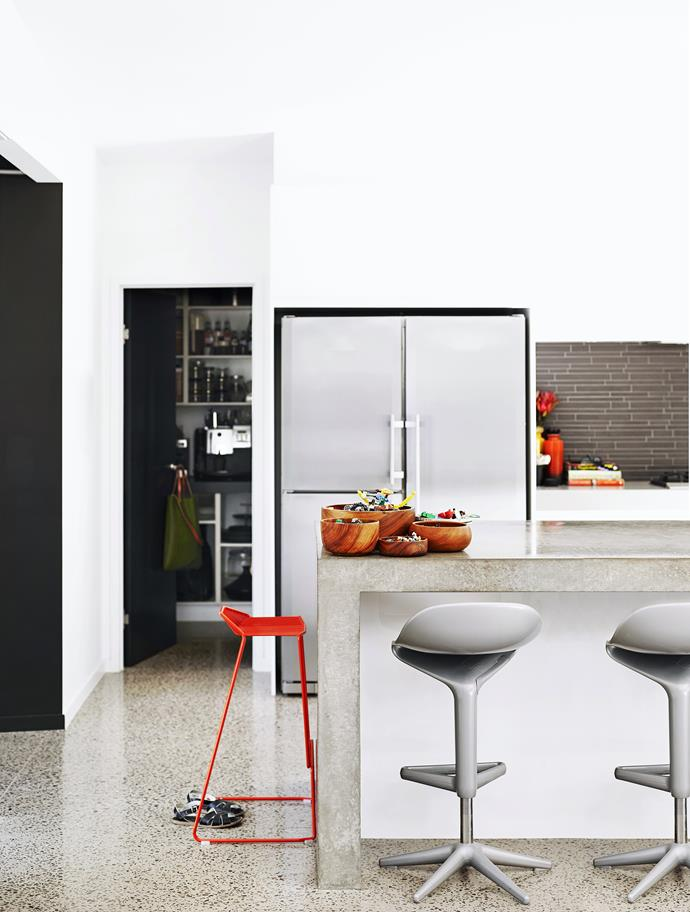 Smart appliances such as refrigerators that can automatically order milk are an add-on to a 'smart' home system. Photo: Tony Scott / bauersyndication.com.au