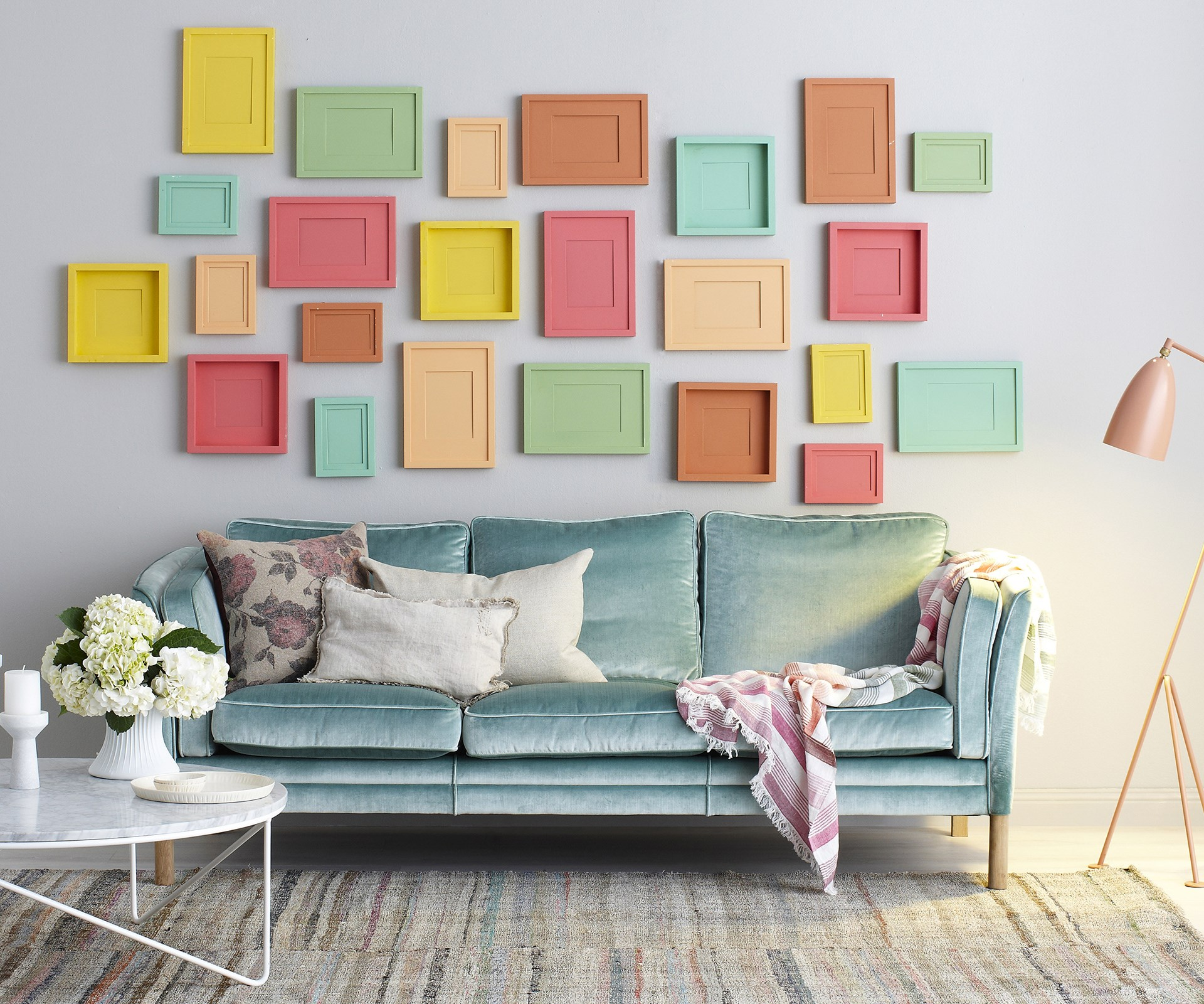 """A simple [lick of paint](http://www.homestolove.com.au/colour-palette-weekend-paint-projects-1932