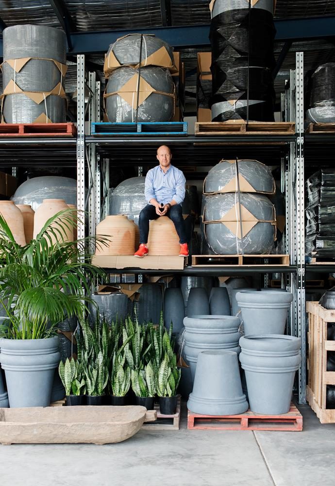"""A worthy vessel will beautify your home outside or in,"" says garden designer and author Richard Unsworth of [Garden Life](http://www.gardenlife.com.au/