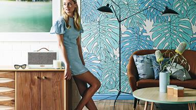 Celebrate warm weather with hot interior design