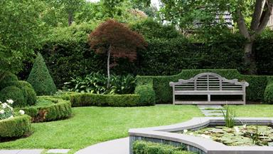 The 5 elements needed to create a formal garden