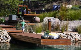 The natural swimming pool