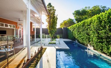Cutting-edge swimming pool design