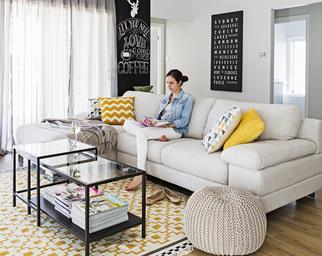 Western Sydney contemporary living room
