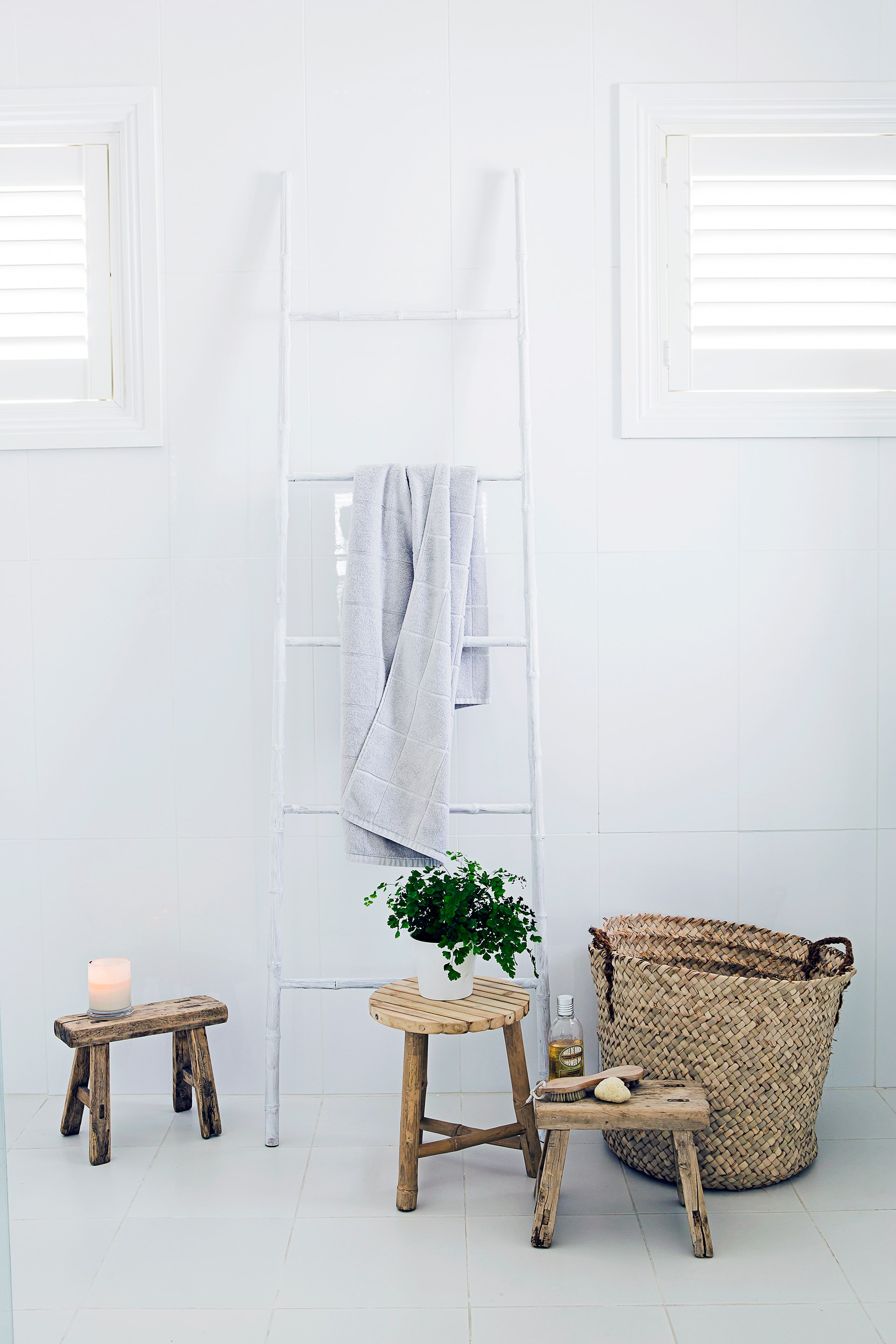 5 Chic Ways To Store Towels Homes To Love