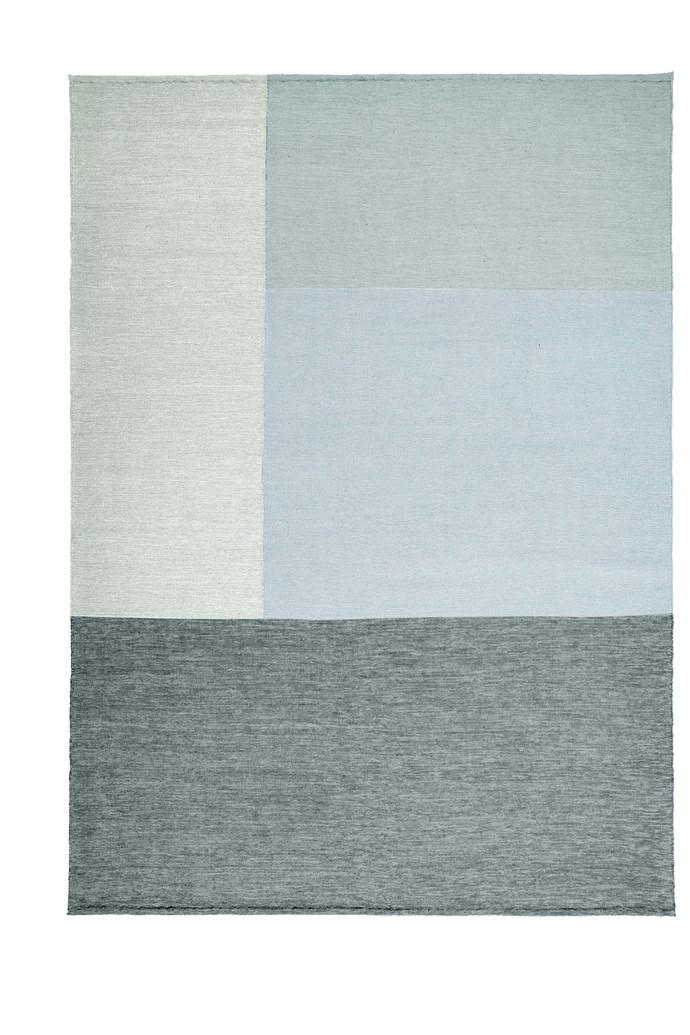 "[Armadillo&Co](http://armadillo-co.com/|target=""_blank""), Marle Fold Marine rug, custom size and shape."