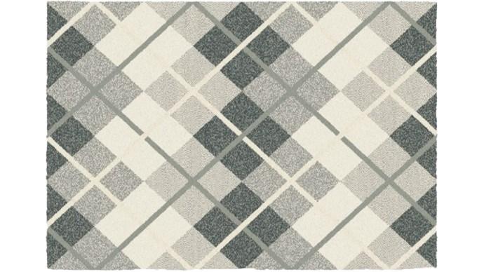 "Rubix rug, $299 for 1.6m x 2.3m, from [Harvey Norman](http://www.harveynorman.com.au/|target=""_blank"")"