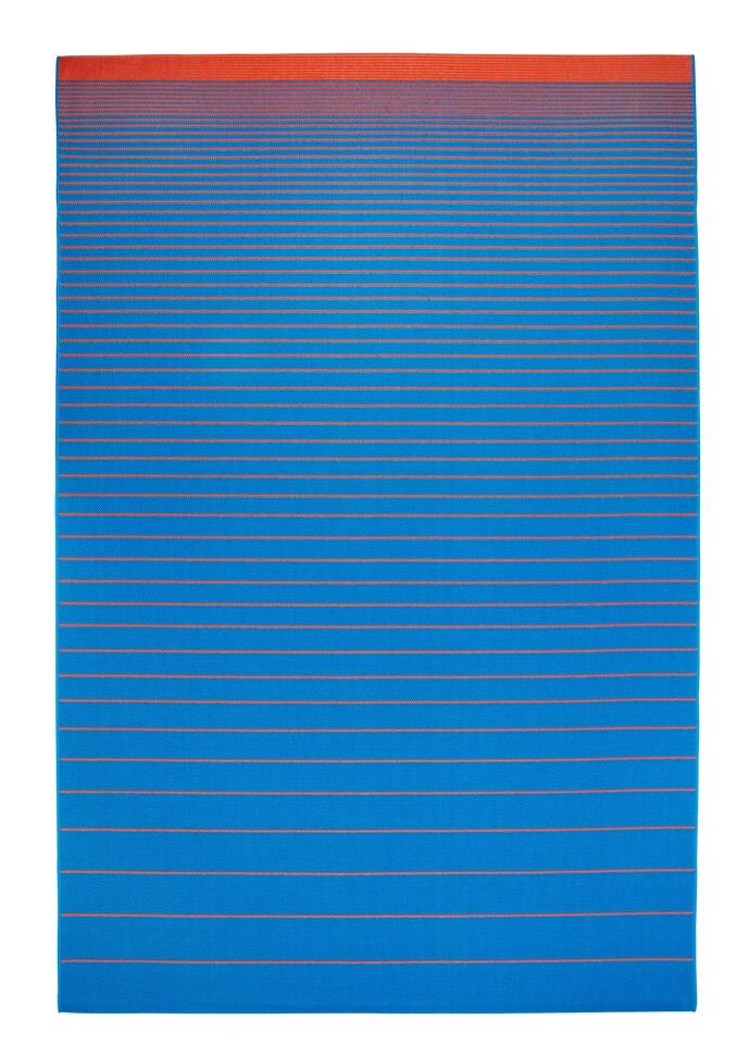 "Mejlb flatwoven rug in Blue, $149 for 2m x 3m, from [Ikea](http://www.ikea.com.au/|target=""_blank"")."