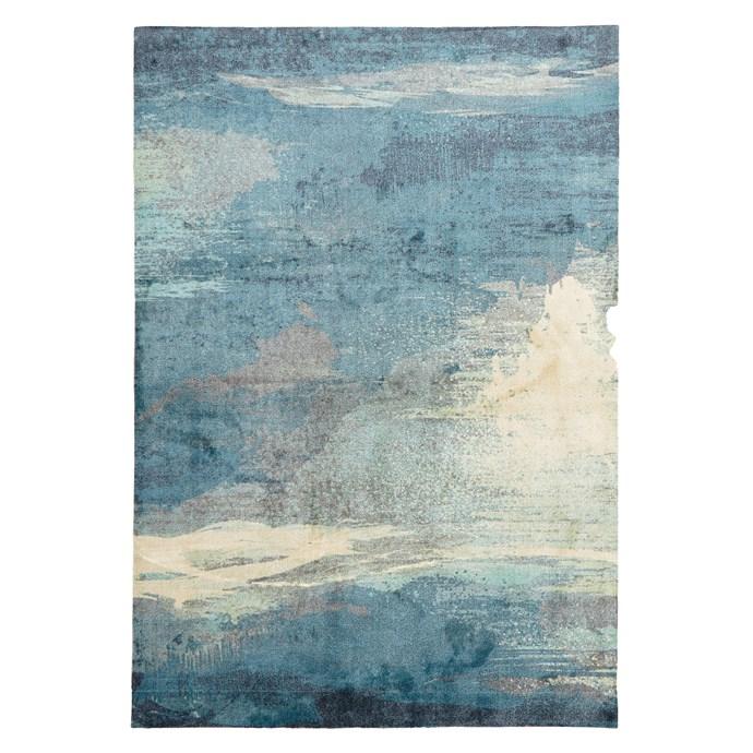 "Estoke Modern rug, $79.95 for 1.1m x 1.6m, from [Zanui](http://www.zanui.com.au/furniture/|target=""_blank"")."