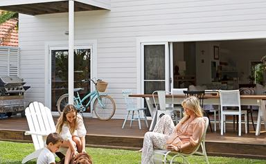 A bright and breezy beach house in Newcastle, NSW
