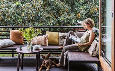 Chris and Sonia's eco-friendly Queensland bush home