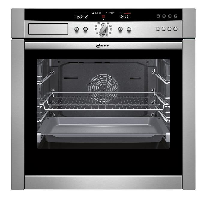 **Neff B45E44N3AU 6ocm Slide & Hide Oven, $3299 This 67L model has a clever door that sits under the oven to save room. It has nine cooking functions, a rotating handle, SilverLight display and an easy-clean interior. From [Winning Appliances](http://www.winningappliances.com.au/).