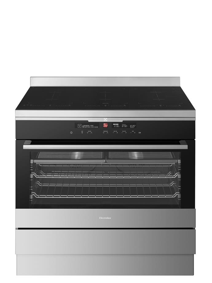 **EFE956BA 90cm Freestanding Oven, $6989** Great for entertaining, it has a 125L oven and induction cooktop with InfinitePro technology, so you can slide pots from one preset zone to another (eg rapid boil to simmer) without having to manually change the controls. From [Electrolux](http://www.electrolux.com.au/).