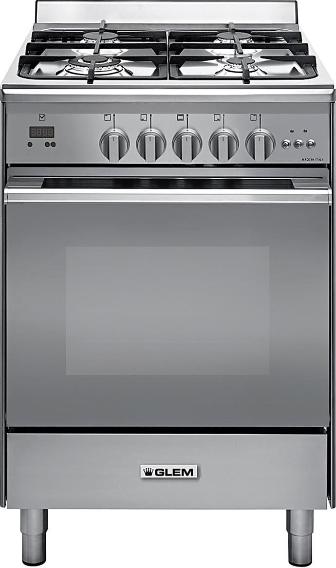 **GLEMGAS UN664MVI 60cm Freestanding Oven, $1899** Compact and versatile, this dual-fuel model has four gas burners, a gas/electric oven made from low-porosity titanium enamel, and a removable glass door for easy cleaning. From [Harvey Norman](http://www.harveynorman.com.au/).
