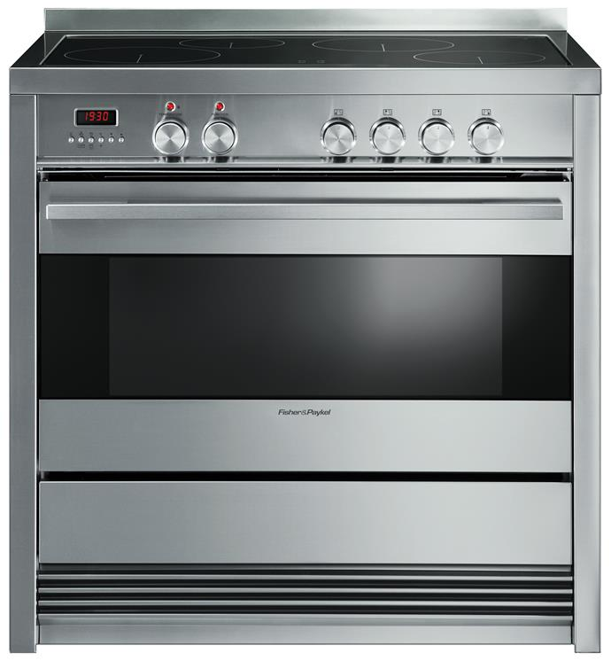 **OR90SDBSIPX1 90cm Pyrolytic Freestanding Induction Cooker, $5949** This model has an 85L oven with seven functions (including fan bake, defrost, rotisserie and pyrolytic self-cleaning) plus two zones with a 3000W PowerBoost option to boil water quickly. Available from [Fisher & Paykel](http://www.fisherpaykel.com.au/).