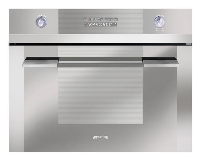 **SCA45V2 60cm Linear Compact Steam Oven, $3490** An eye-catching design in glass and stainless steel, this 35L steam oven has six functions, four shelf heights, LED display and an electronic timer. Sourced from [Smeg](http://www.smeg.com.au/).