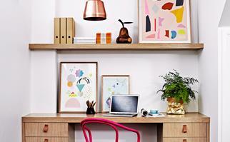 Stylish home office