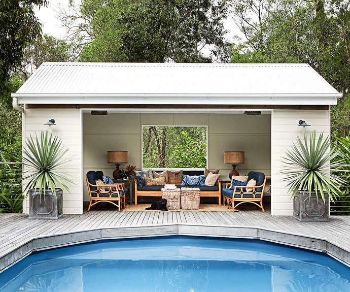 """Many outdoor rooms are under-decorated. I love fabrics, layers and textures for these spaces,"" says Brisbane decorator Angela Antelme of [Ascot Living](http://www.ascotliving.com.au/?utm_campaign=supplier