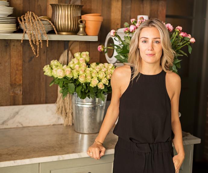 Interior designer Caroline Choker
