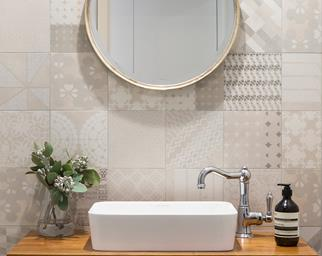 Bathroom designed by Adele Bates Design