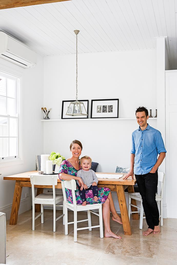 Cassie, an executive assistant, and her husband Tim, an analyst, live here with their two-year-old daughter Maya.