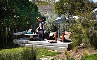 How to create a coastal garden