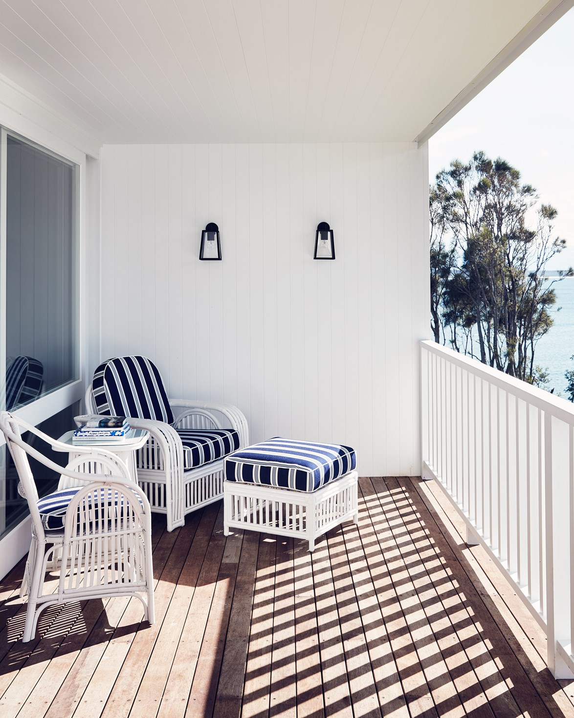 "The penthouse suites at [Bannisters in Mollymook Beach](https://www.homestolove.com.au/collette-dinnigan-designs-a-boutique-hotel-2163|target=""_blank"") were designed by Collette Dinnigan, fashion designer and former local."