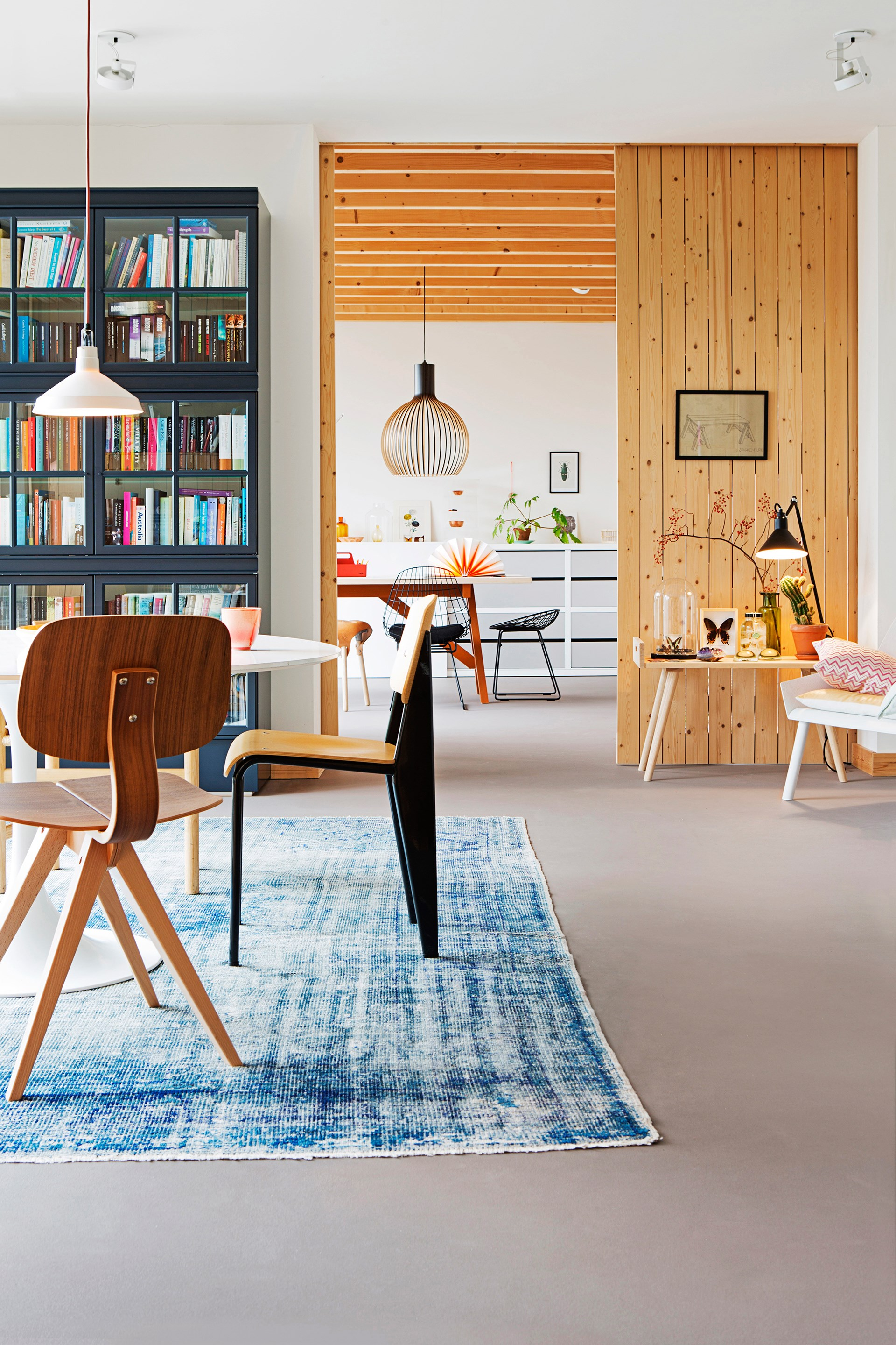 """The eco-friendly lino flooring unifies the home and is a breeze to keep clean. [Take a full tour here](http://www.homestolove.com.au/gallery-christiens-simply-beautiful-dutch-bungalow-2172/?utm_campaign=supplier/ target=""""_blank""""). Photo: Jeltje Janmaat / *real living*"""