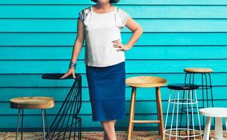 Interior designer Rowena Cornwell
