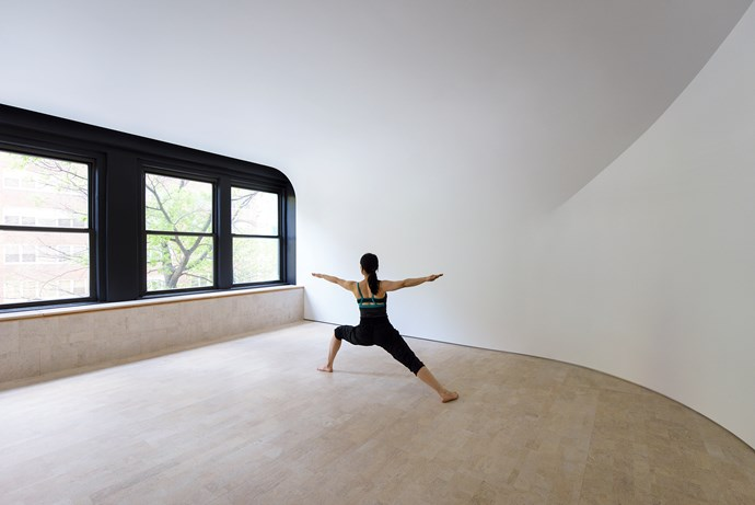 "**CRS Studio** [Clouds Architecture Office](http://www.cloudsao.com/?utm_campaign=supplier/|target=""_blank"") designed this multi-purpose yoga and meditation studio in New York. Photo: [GION](http://gionstudio.com/?utm_campaign=supplier/
