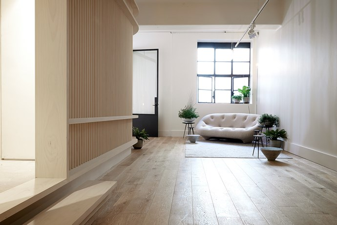 **Move Yoga** The design took cues from Japanese architecture and Scandinavian-style to create a simple and honest interior. Photo: Earl Carter.
