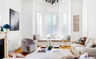 Inside/outside open living room