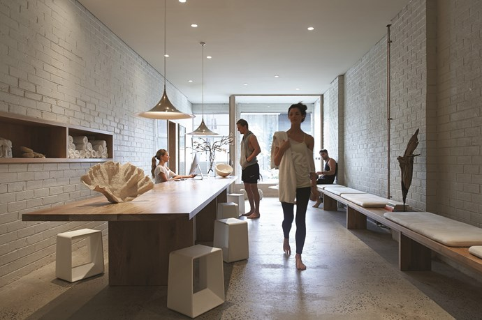 "**One Hot Yoga** Exposed brick walls and concrete floors, luxurious fabrics, fresh air and natural light evoke a sense of calm and tranquility at [One Hot Yoga](http://www.onehotyoga.com.au/?utm_campaign=supplier/|target=""_blank"") in South Yarra, Melbourne."