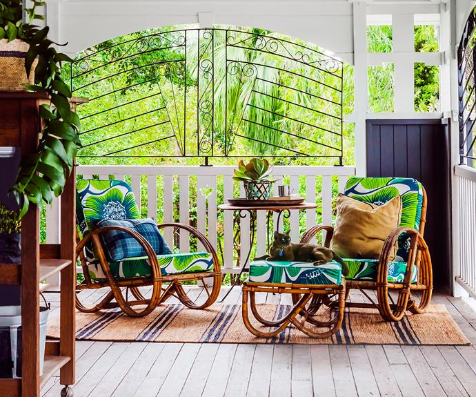 Queenslander verandah