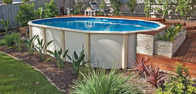 """Sunsoka Resin 2012 pool with standard kit (pump, filter and skimmer box) from [Clark Rubber](http://www.clarkrubber.com.au/