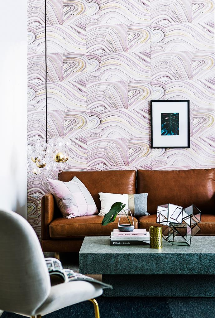 "**4. Feature walls** **PROS** A [feature wall](https://www.homestolove.com.au/how-to-choose-a-colour-for-your-feature-wall-3027|target=""_blank"") is your best bet for making a big impact. A great wallpaper can set the tone for the whole room, adding colour or pattern where needed. **CONS** A random feature wall can make a room look unfinished, like you couldn't be bothered doing the rest. It can also make a room feel smaller and make low ceilings feel even lower."